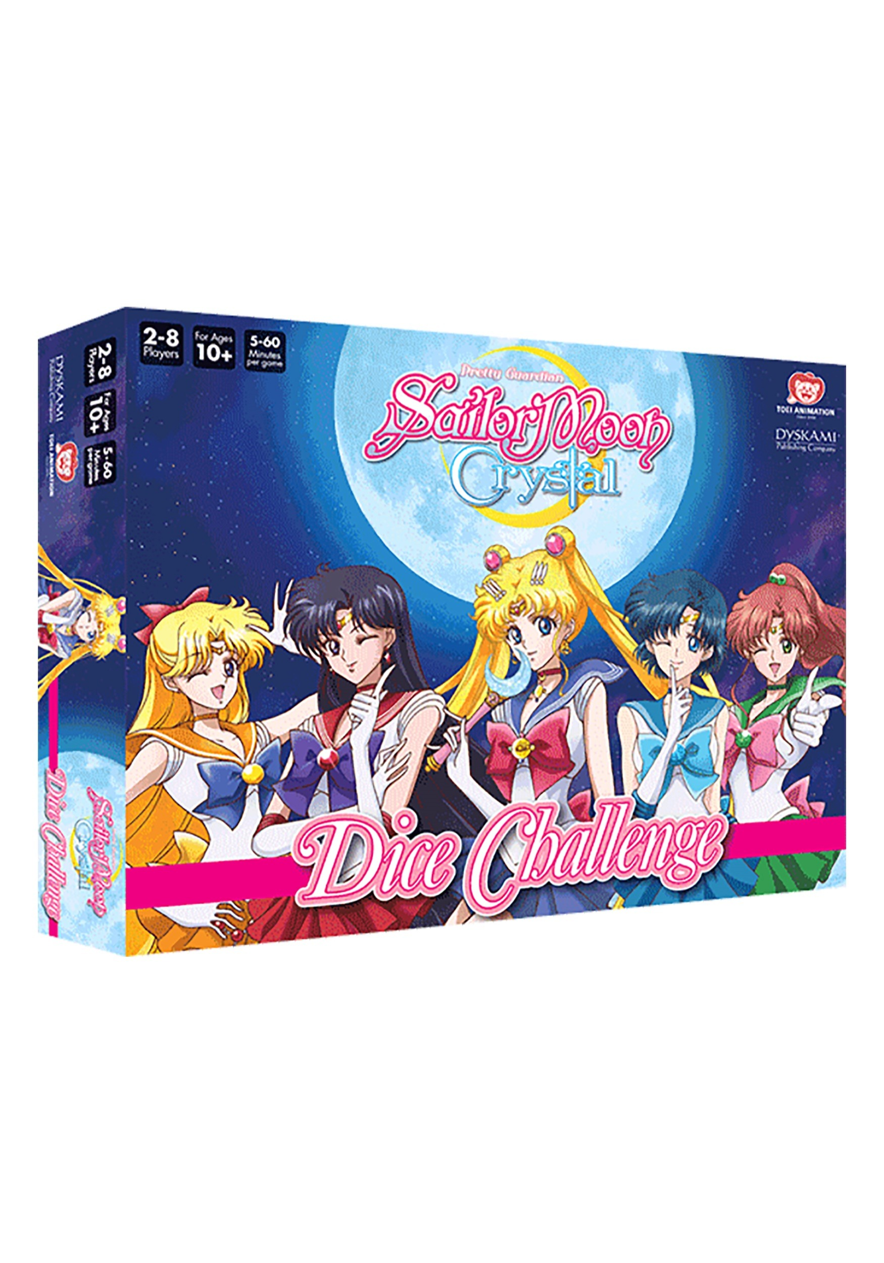 Sailor Moon Crystal: Dice Challenge Game