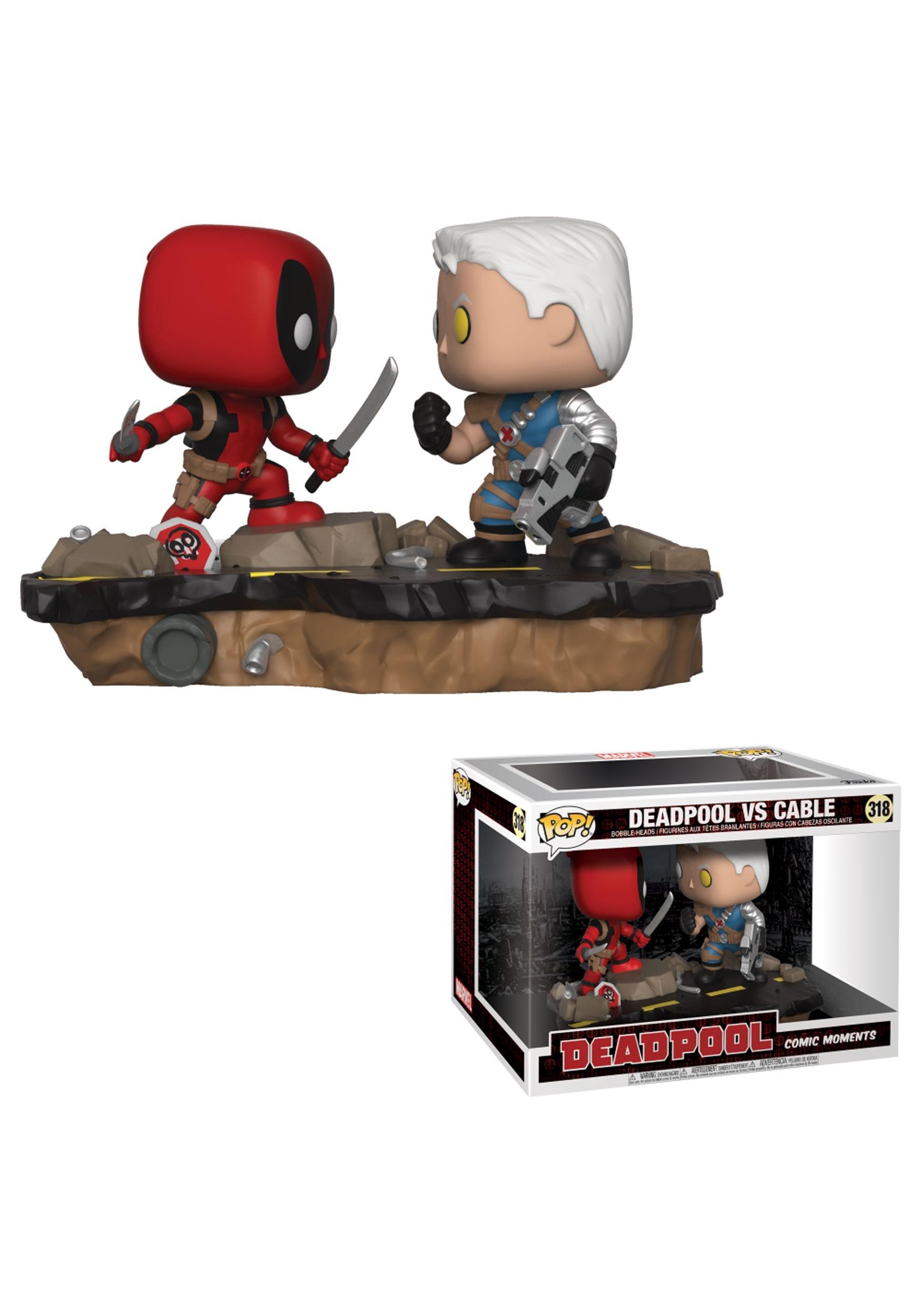 Deadpool Vs Cable Pop Marvel Vinyl Figure