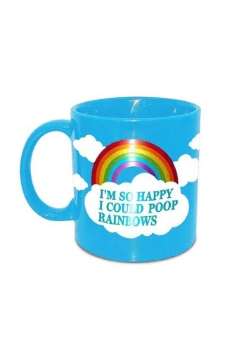 I'm So Happy I Could Poop Rainbows Mug