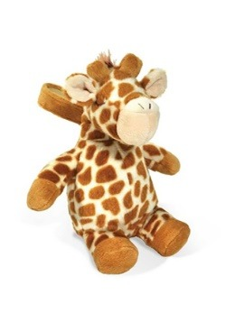 Cloud B Gentle Giraffe on the Go Plush