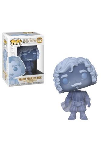 Pop! Harry Potter: Nearly Headless Nick (translucent blue)
