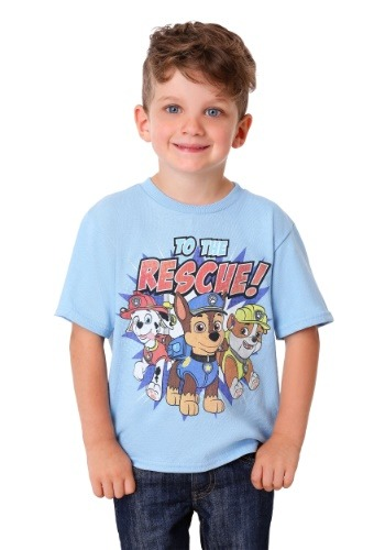 Boys Paw Patrol To the Rescue T Shirt