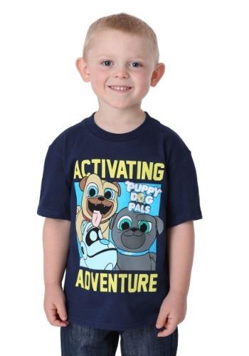 Puppy Dog Pals Activating Adventure Boy's T-Shirt