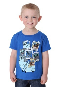 Puppy Dog Pals Characters Boy's T-Shirt