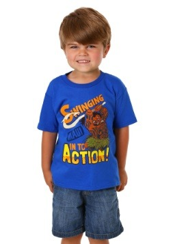 Moana Swinging Into Action Maui Boys T Shirt