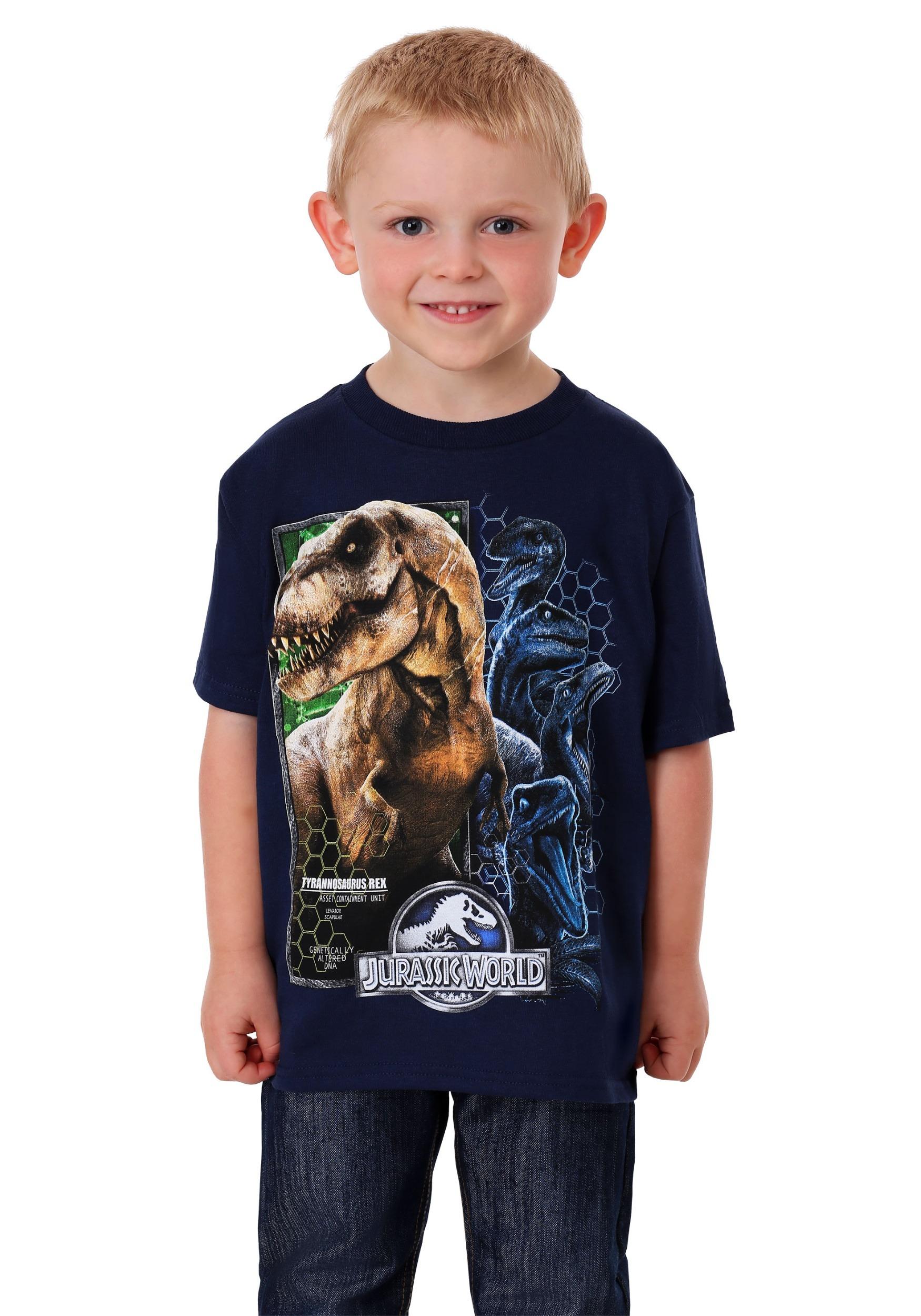 95b04ee17 Jurassic World Boy's T-Shirt