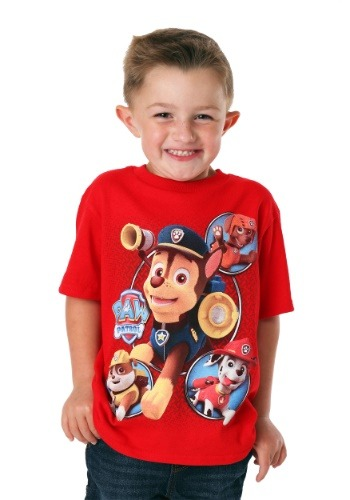 Paw Patrol Characters in Action T-Shirt
