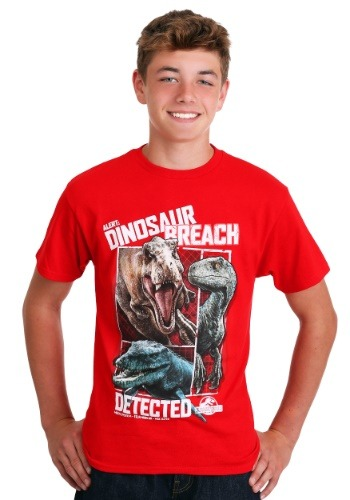 Jurassic World Dinosaur Breach Kid's T-Shirt