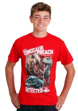Jurassic World Dinosaur Breach Kid's T-Shirt Update1