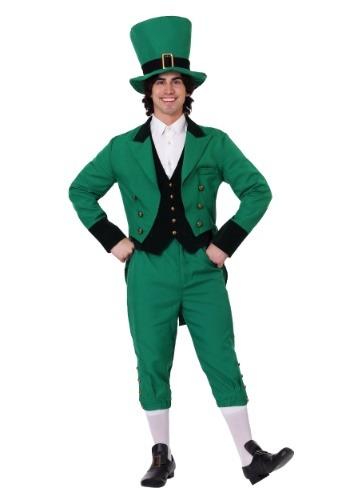 Men's Leprechaun Plus Size Costume1