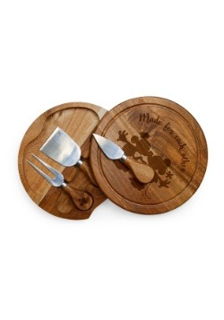 Mickey and Minnie Mouse Acacia Brie Cheese Board-update1
