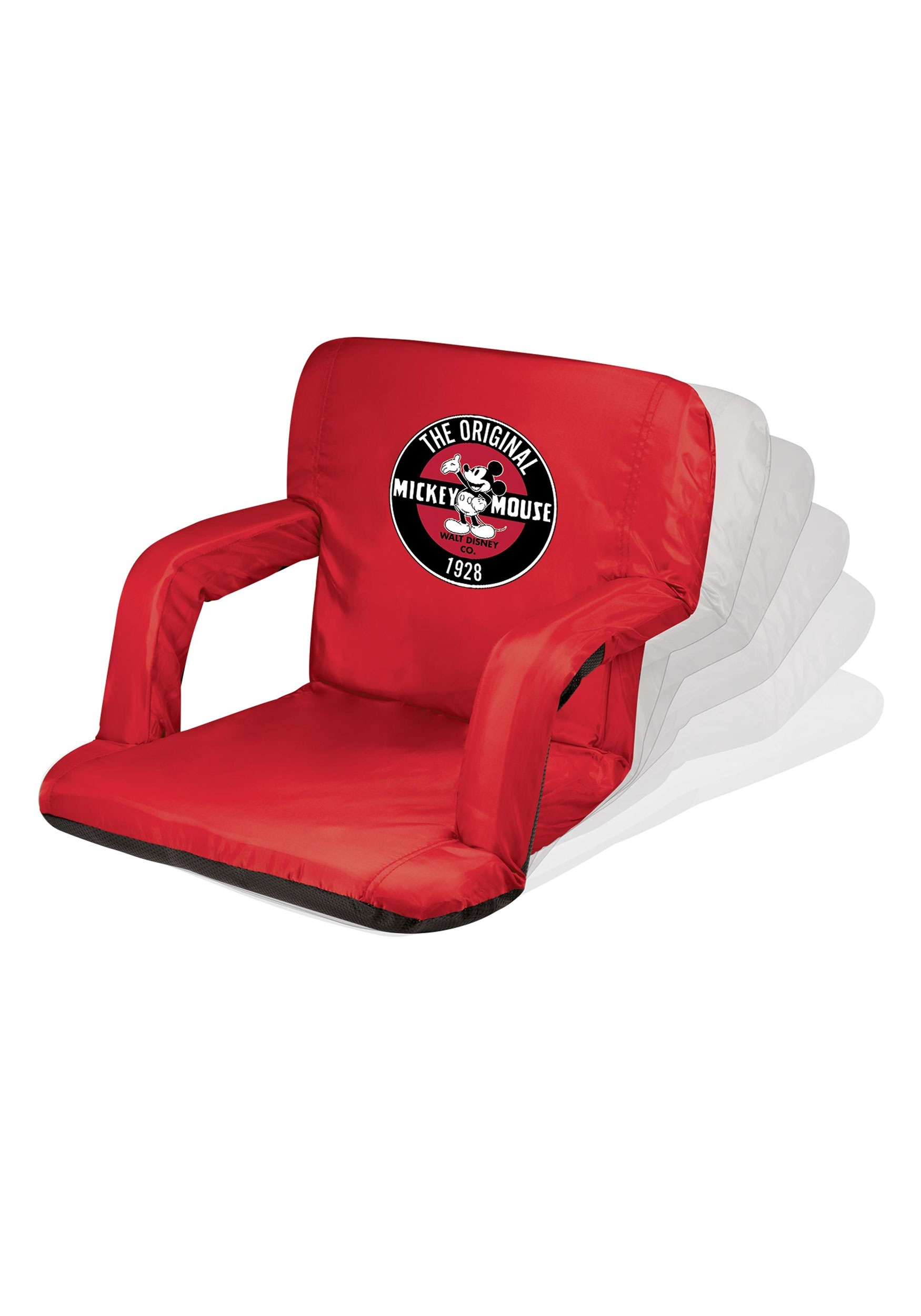 Picnic Time Mickey Mouse Ventura Reclining Stadium Seat