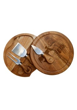 Pixar's Ratatouille Acacia Brie Cheese Board & Tools Set-upd