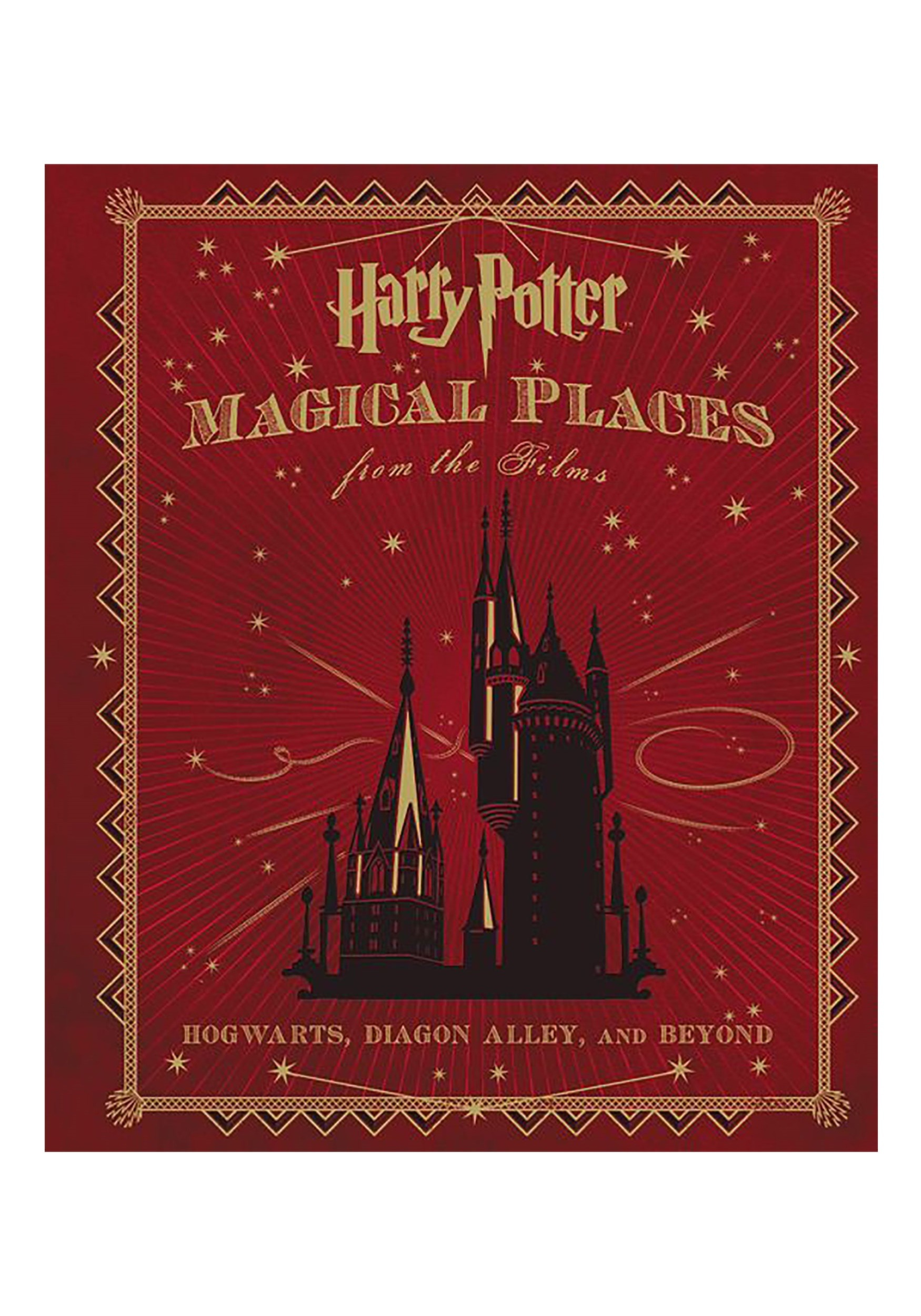 Magical Places from the Films Hardcover: Harry Potter