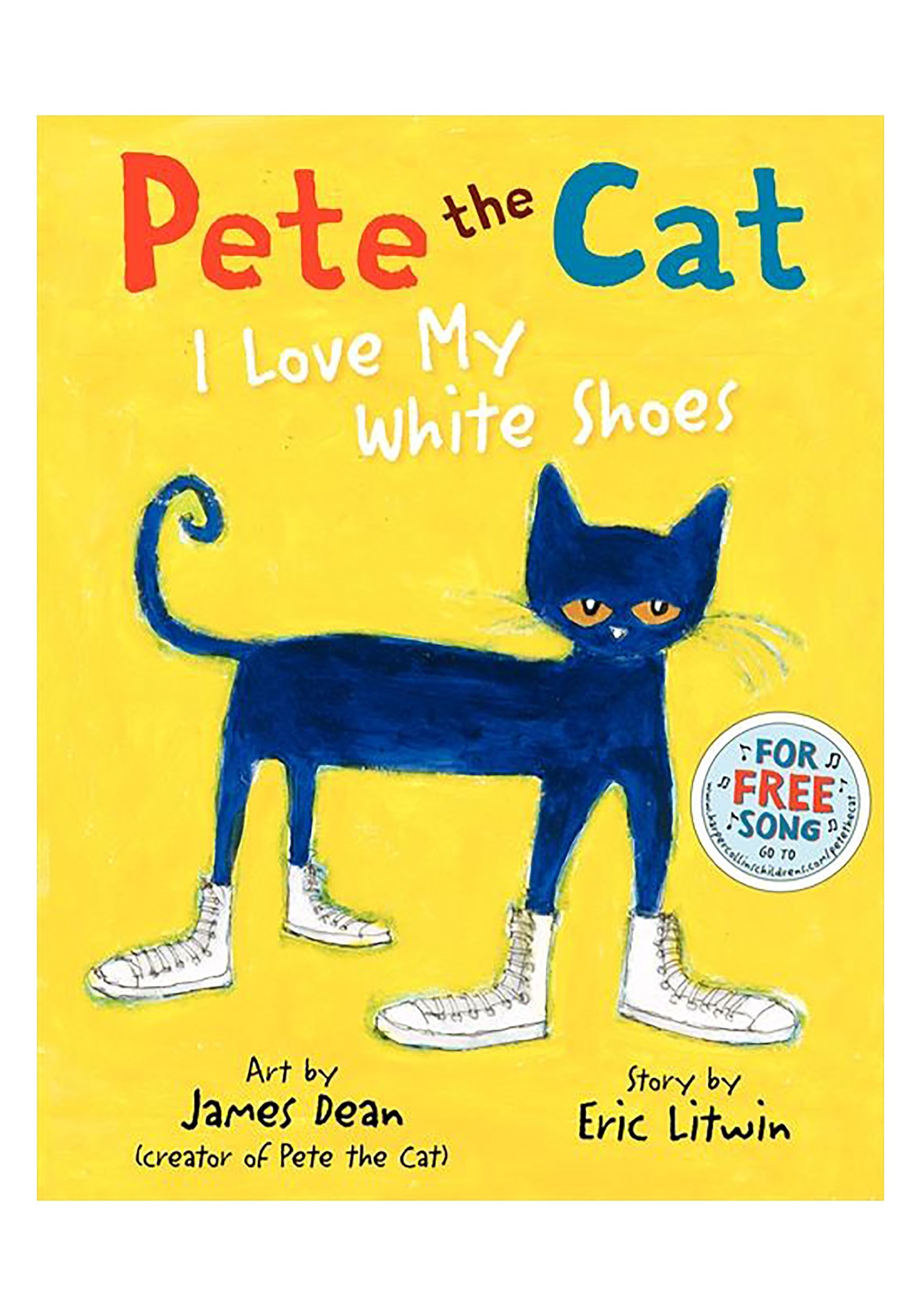 Hardcover Book Pete the Cat: I Love My White Shoes