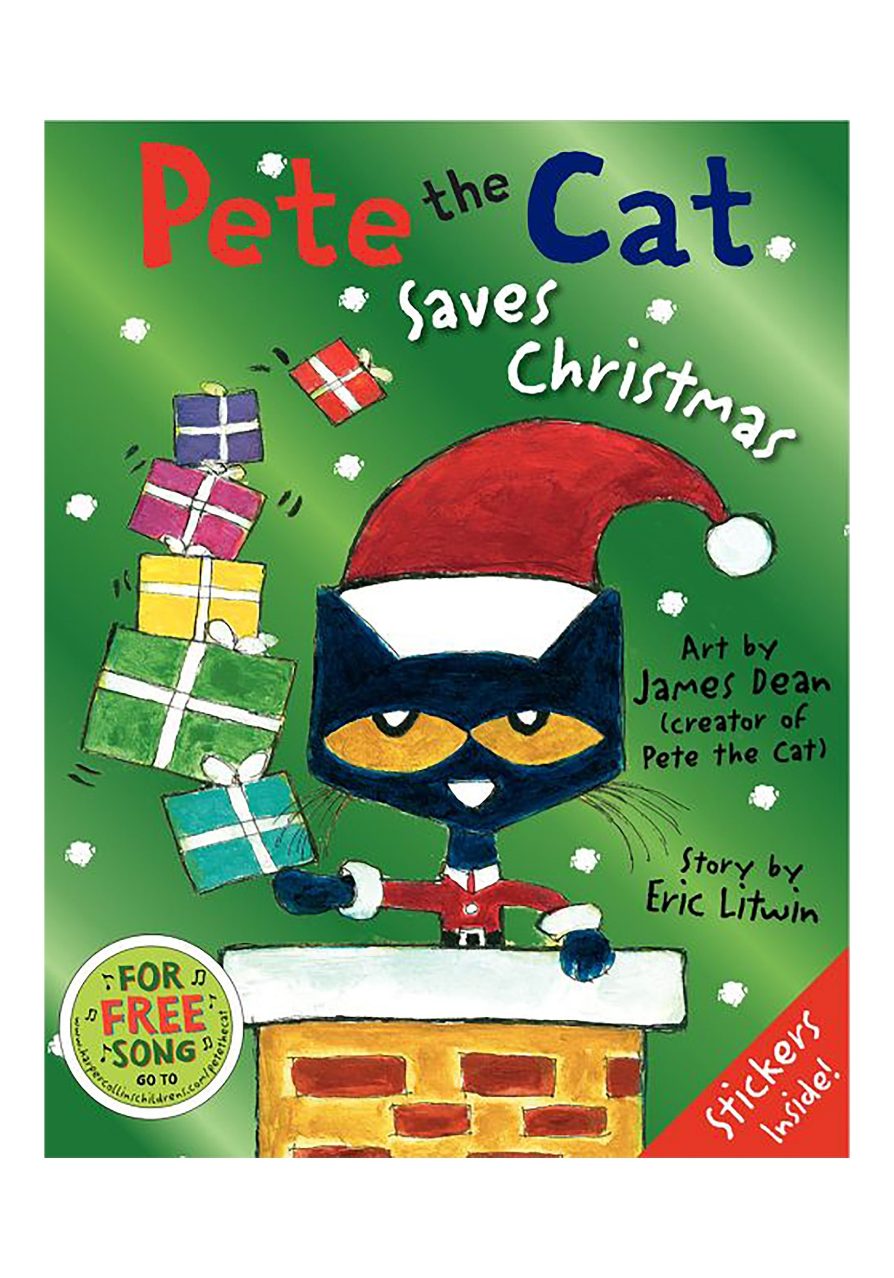 Pete The Cat Saves Christmas Hard cover