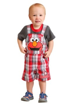 Infant Boy's Sesame Street Elmo Shortall Set