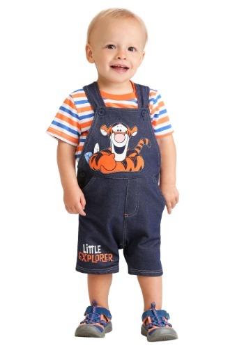 Infant Tigger Little Explorer Shortall Set