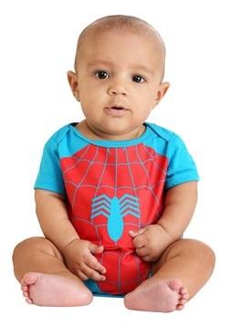 Infant Marvel Spider-Man and Incredible Hulk Onesies1