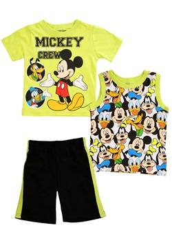 Toddler Mickey Mouse And The Crew 3 Piece Set Update Main