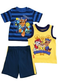 Boys Toddler Paw Patrol Chase Pawsome 3 Piece Set