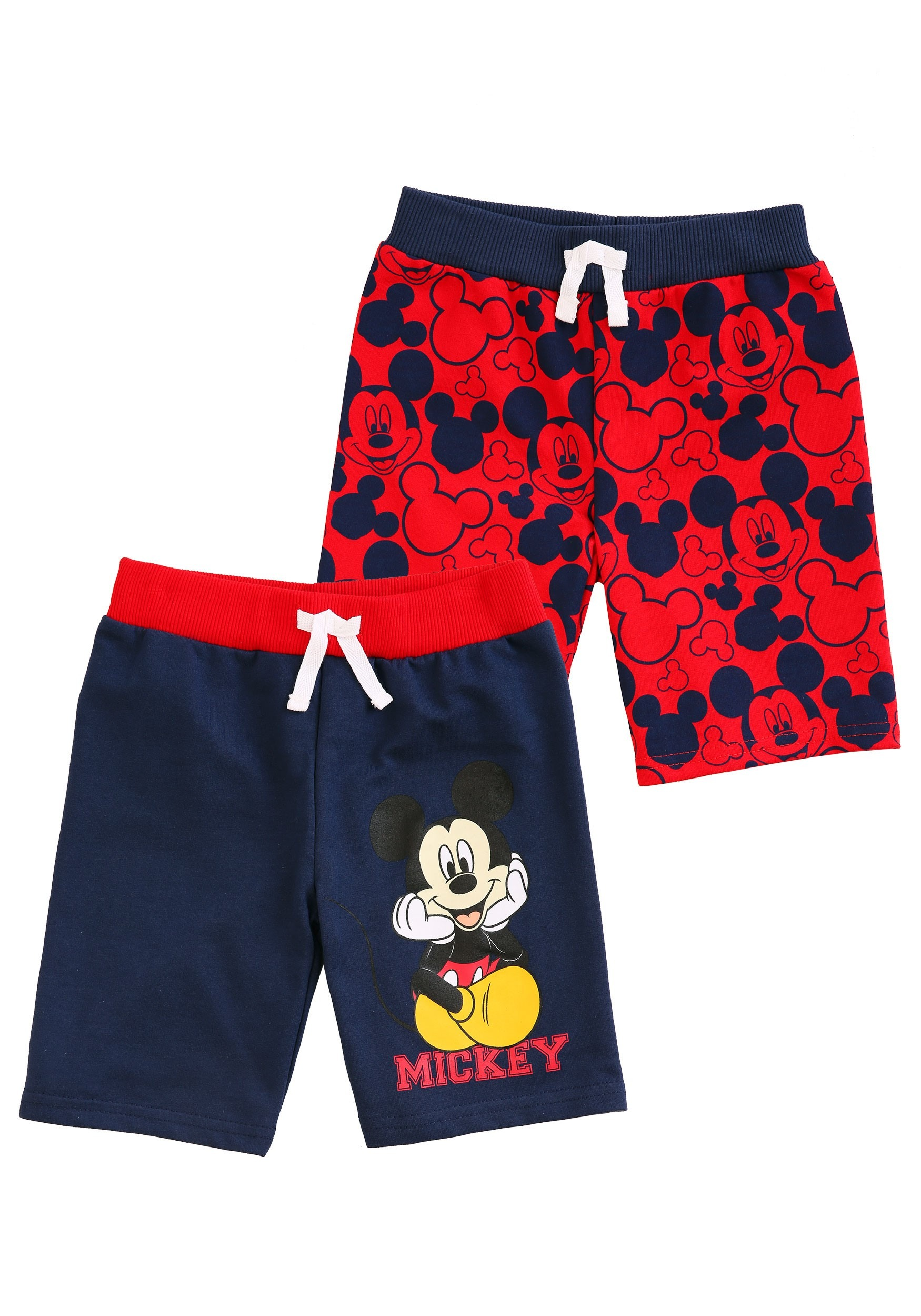 3486e3400dda Mickey Mouse Faces Shorts 2-Pack For Toddler Boys