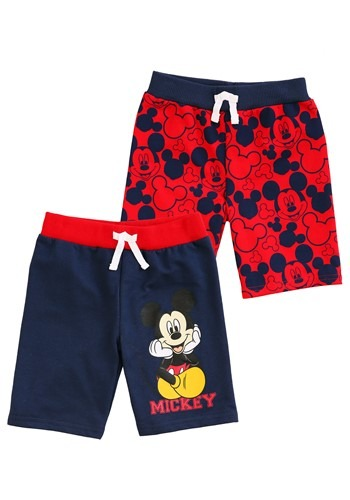Mickey Mouse Faces Toddler Boys Shorts 2-Pack1