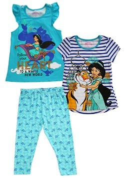 Princess Jasmine 3 Piece Capri Set Update Main