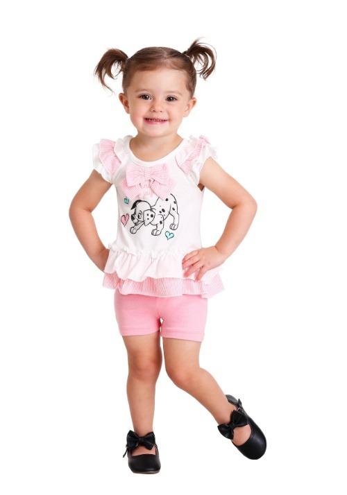 101 Dalmatians Little Bundle of Joy Top & Short Set