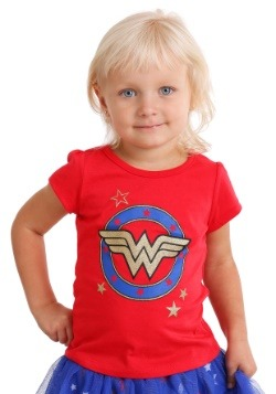 Wonder Woman Red Logo Tee