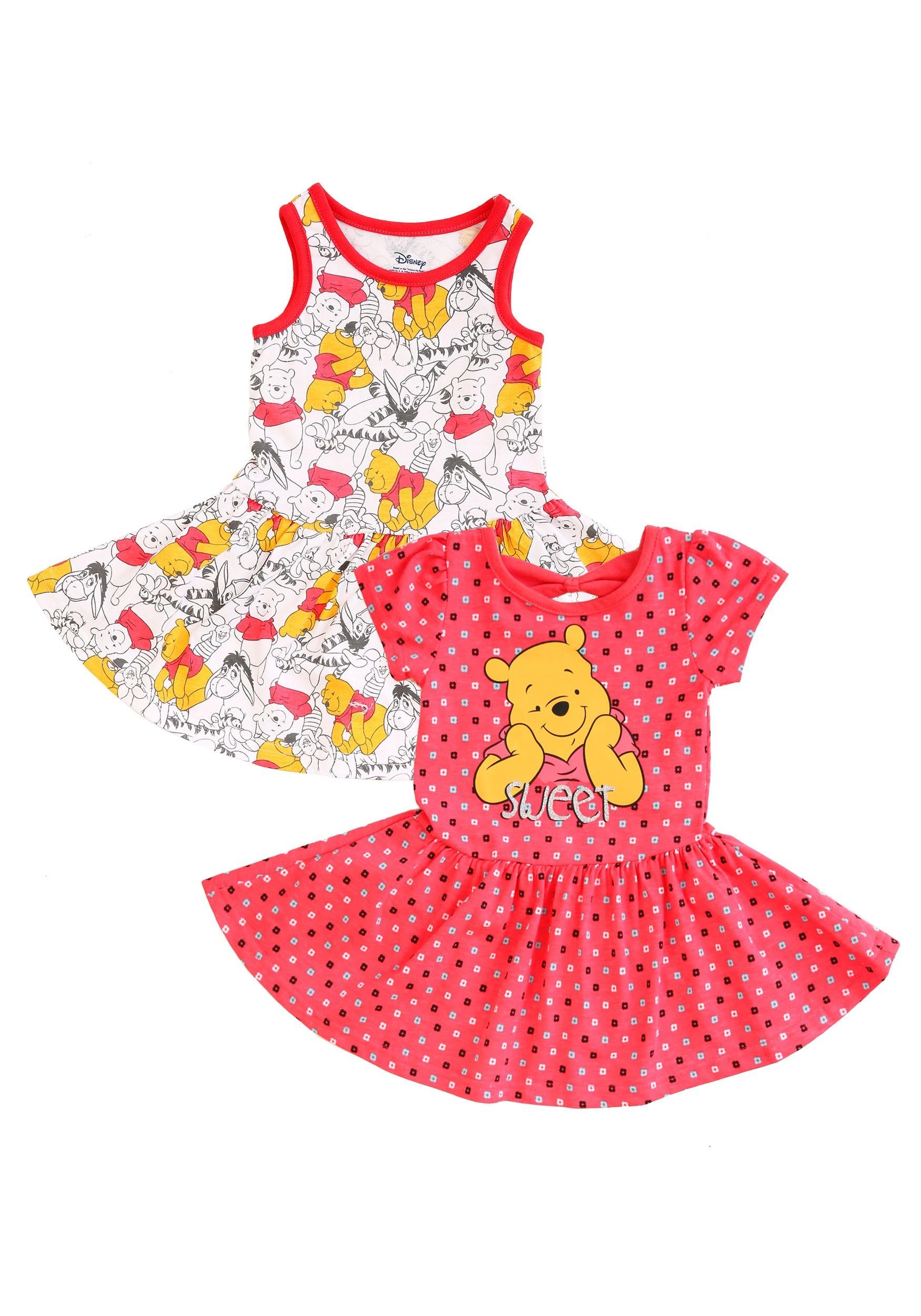 262d4c958073 Winnie the Pooh Dresses 2 Pack flat