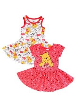 Winnie the Pooh Dresses 2 Pack flat
