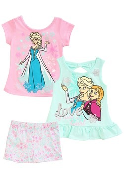 3 Piece Frozen Love Short & Tops Set Update Main