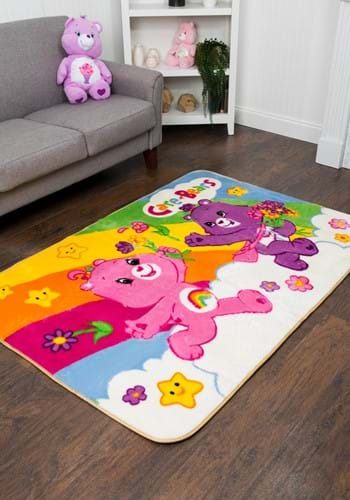 Care Bears Happy Rainbow Rug