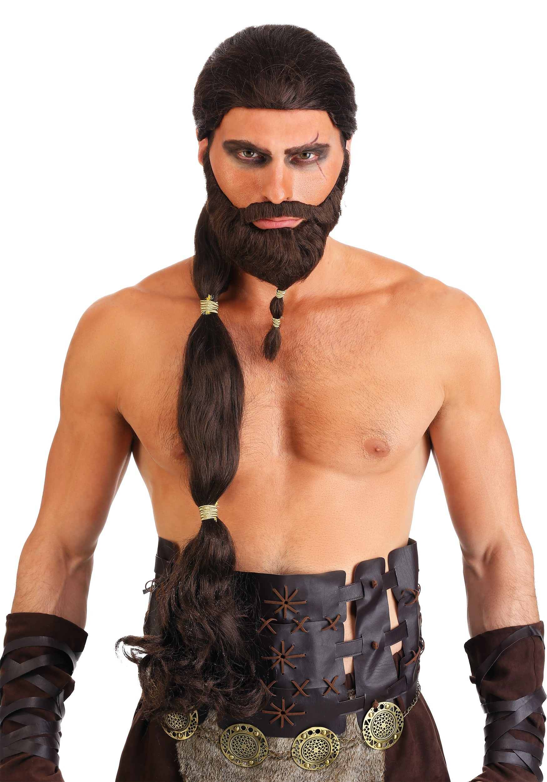 Warrior King Wig And Beard