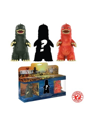 Mystery Mini Godzilla 3 Pack