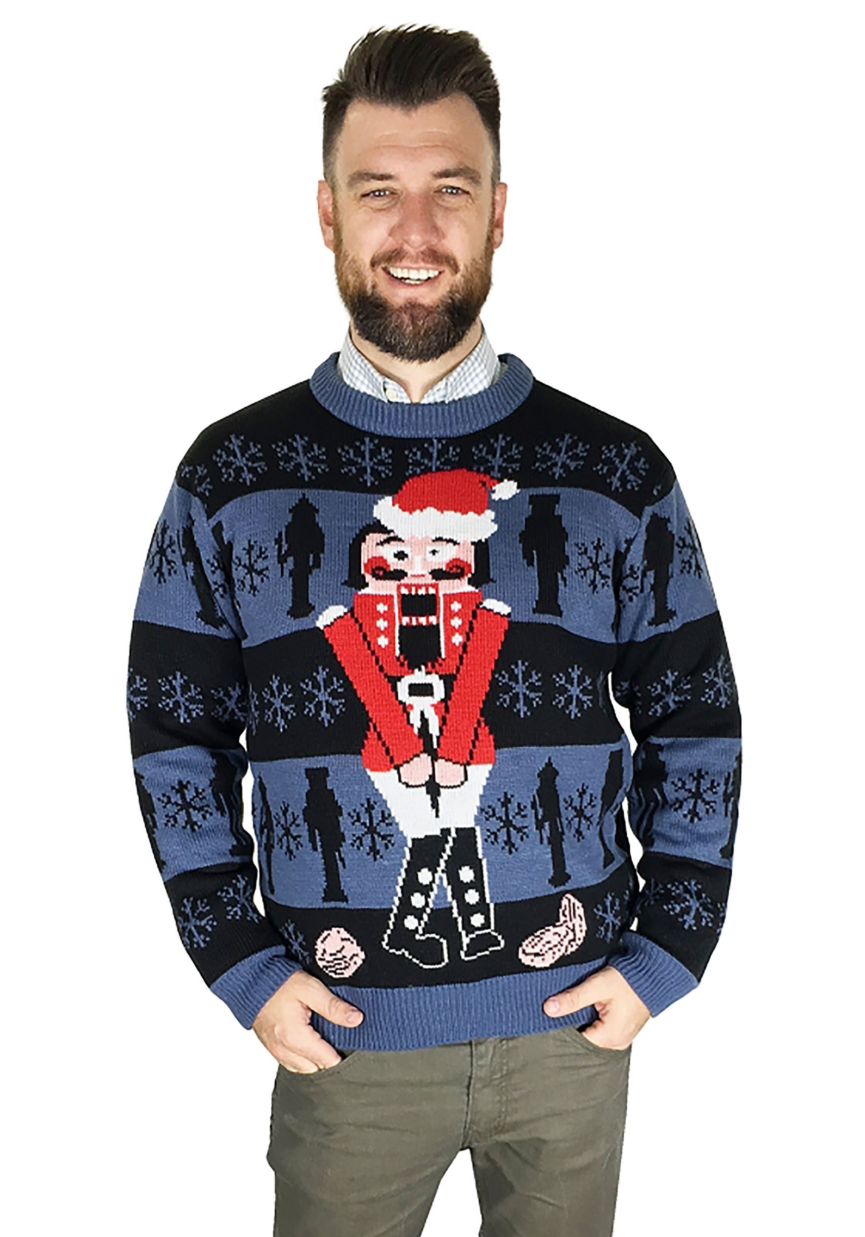 The Nutcracker Ugly Christmas Sweater Adult