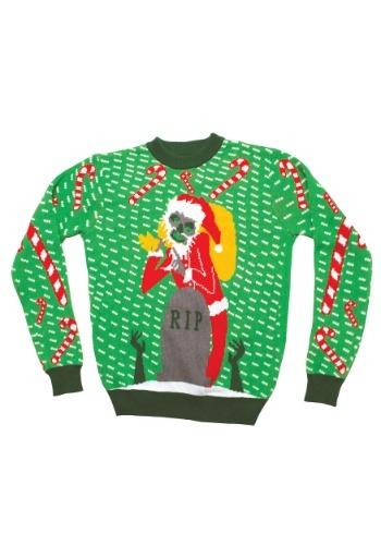 Zombie Santa Ugly Christmas Sweater
