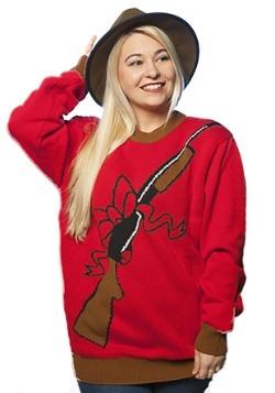 Rebellin Rifle Adult Ugly Christmas Sweater