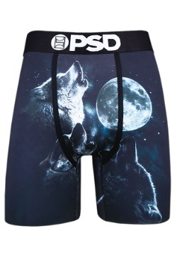 PSD Underwear- Wolf Moon Men's Boxer Briefs Update1
