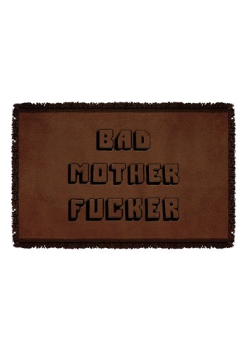 Woven Pulp Fiction Bad Mother Throw