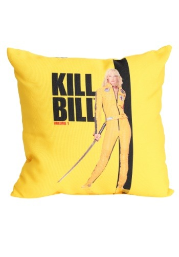 "Kill Bill Volume 1 Poster 14"" x14"" Throw Pillow"