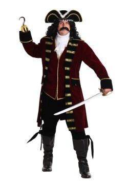 Deluxe Captain Hook Plus Size Costume Update1