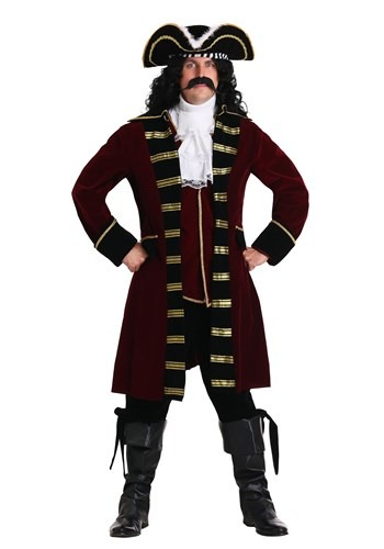 Deluxe Captain Hook Plus Size Costume - from $89.99