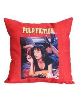 "Pulp Fiction Movie Poster 14"" x 14"" Throw Pillow"