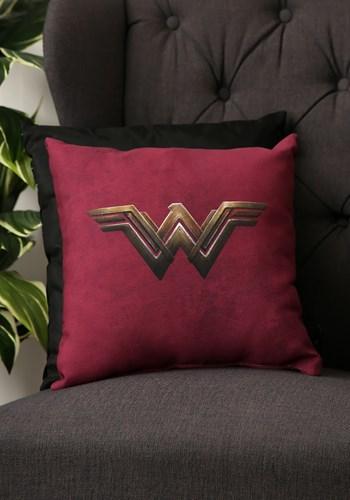 Wonder Woman Movie Logo Throw Pillow Update