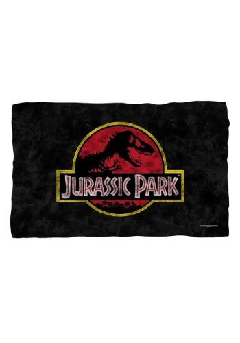 Logo Jurassic Park Lightweight Fleece Blanket