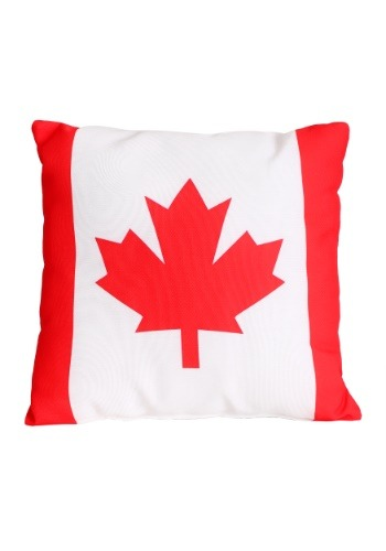 "Canadian Flag 14"" x 14"" Throw Pillow"