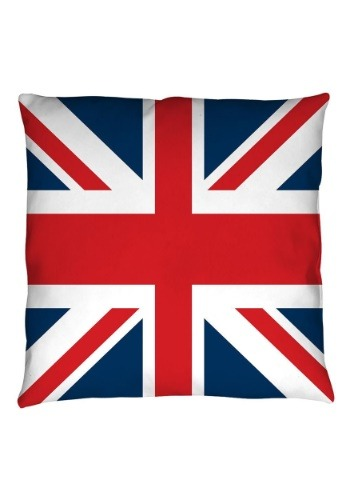 "United Kingdom Flag 14"" x 14"" Throw Pillow"