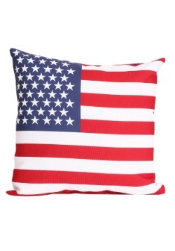"American Flag 14"" x 14"" Throw Pillow"